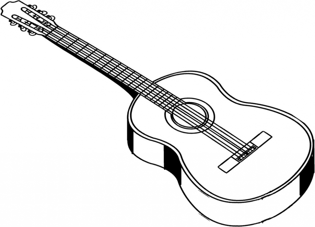 how to sketch a guitar guitar line drawing clipart free to use clip art a how guitar to sketch