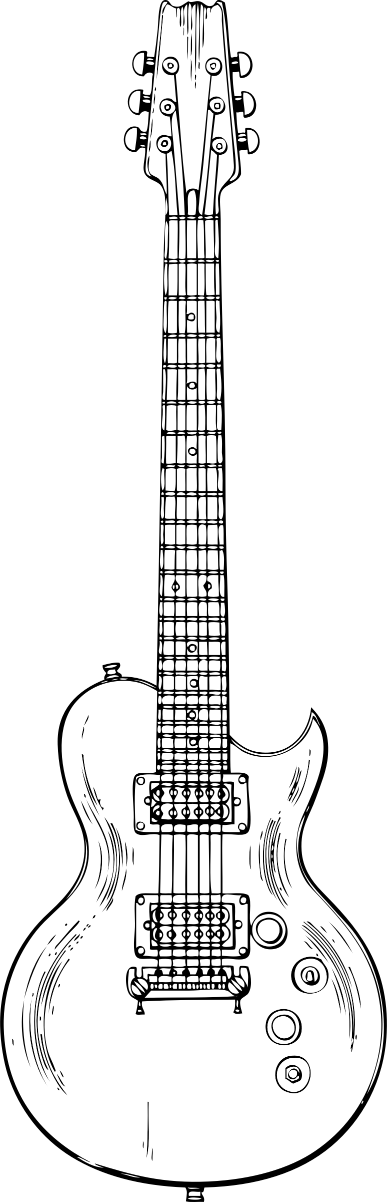 how to sketch a guitar how to draw a rock guitar on the sheet of paper in stages how to guitar a sketch