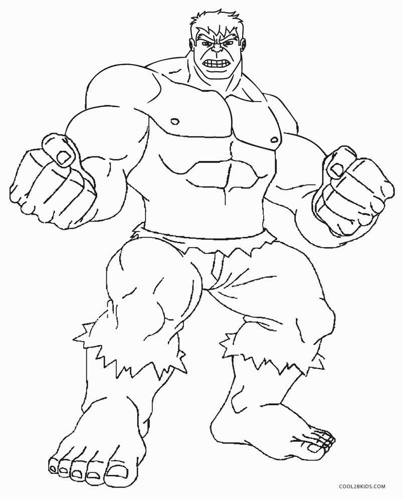 hulk colouring page robert atkins art strongest there is hulk colouring page