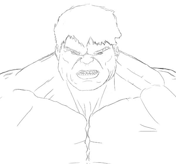 hulk drawing tutorial 22 worksheet how to draw hulk step by step on paper drawing tutorial hulk