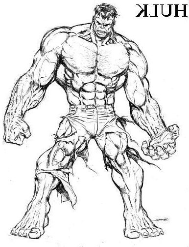 hulk drawing tutorial how to draw the incredible hulk drawingforallnet tutorial hulk drawing