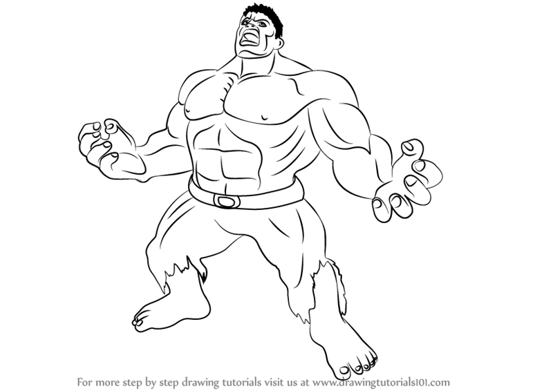 hulk drawing tutorial hulk drawing easy at getdrawingscom free for personal hulk drawing tutorial