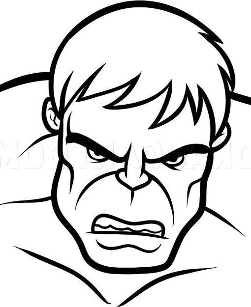 hulk drawing tutorial step by step how to draw the hulk face drawing hulk tutorial