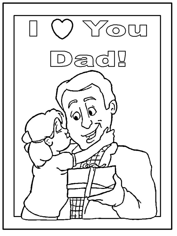 i love my daddy coloring pages i love dad my gift for you daddy coloring pages coloring sky my coloring pages daddy love i