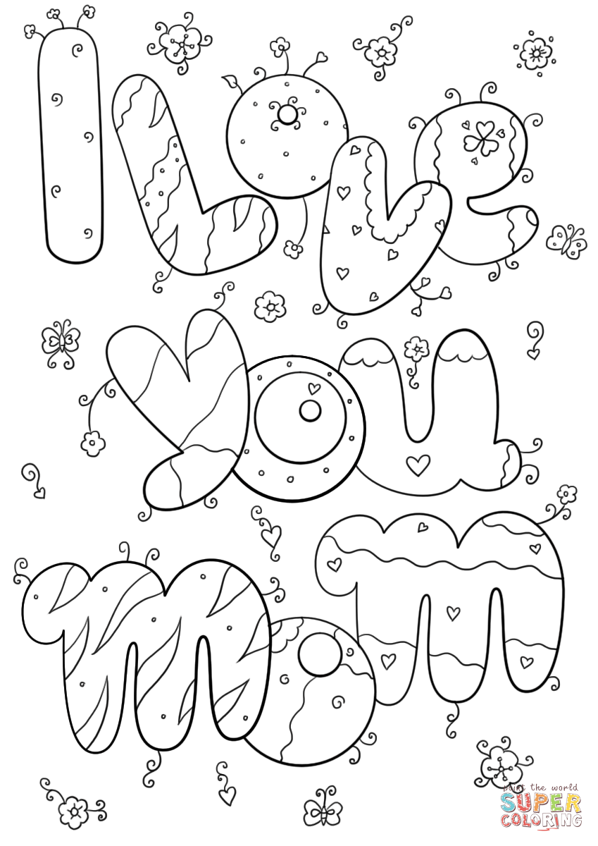 i love you mom and dad pictures i love mom and dad pages coloring pages mom i pictures you love and dad