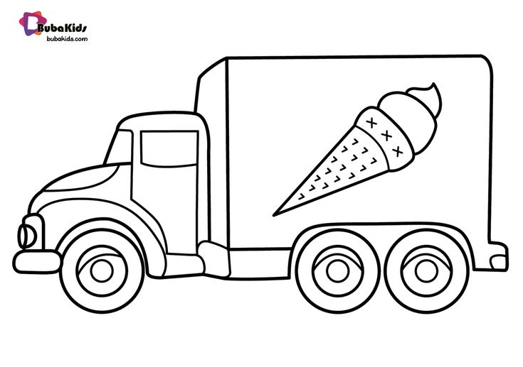 ice cream truck coloring free online coloring pages thecolor truck coloring cream ice