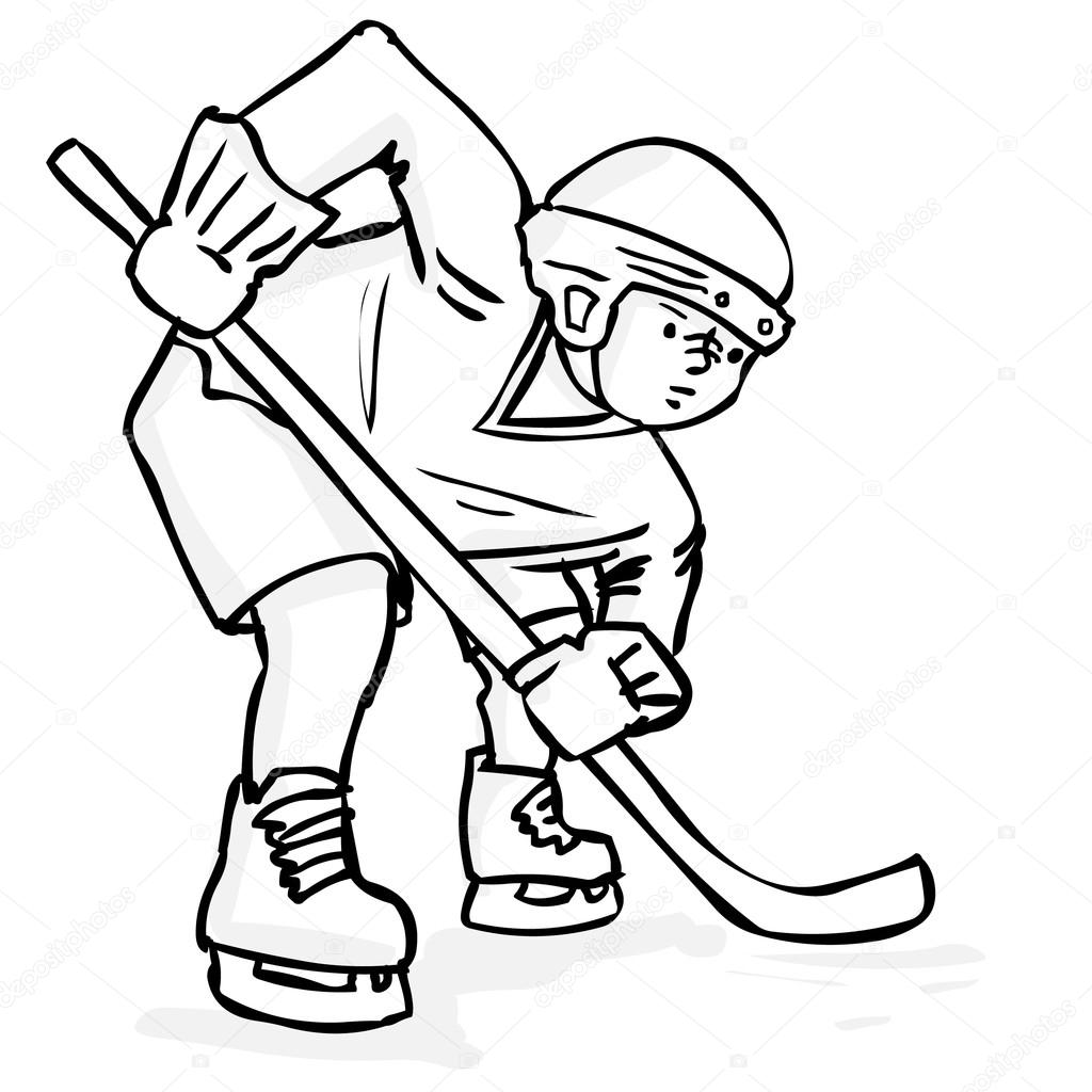 ice hockey player drawing hockey goalie drawing at getdrawings free download drawing hockey player ice