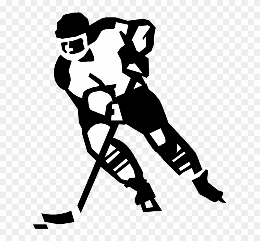 ice hockey player drawing hockey player skating without puck ink drawing isolated ice player drawing hockey
