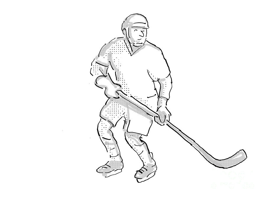 ice hockey player drawing learn how to draw ice hockey player other sports step by hockey drawing ice player