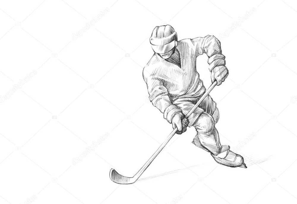 ice hockey player drawing vincent lecavalier drawing by murphy elliott player drawing hockey ice