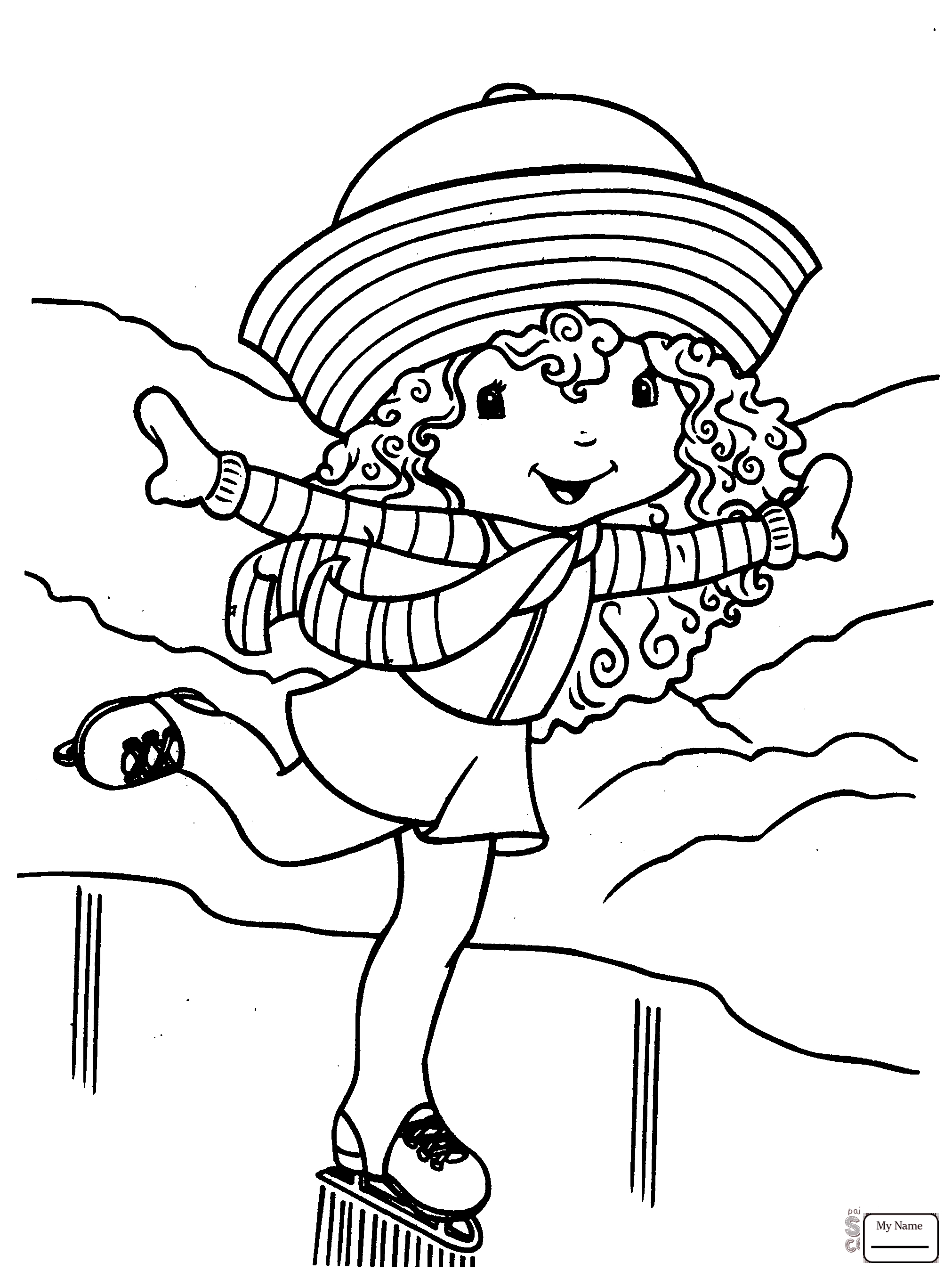 ice skating colouring pictures coloring pages ice skating at getcoloringscom free skating pictures colouring ice