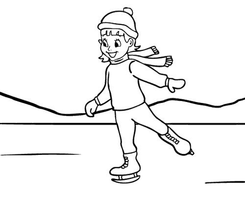 ice skating colouring pictures girl ice skating coloring page coloring pages dog colouring pictures ice skating