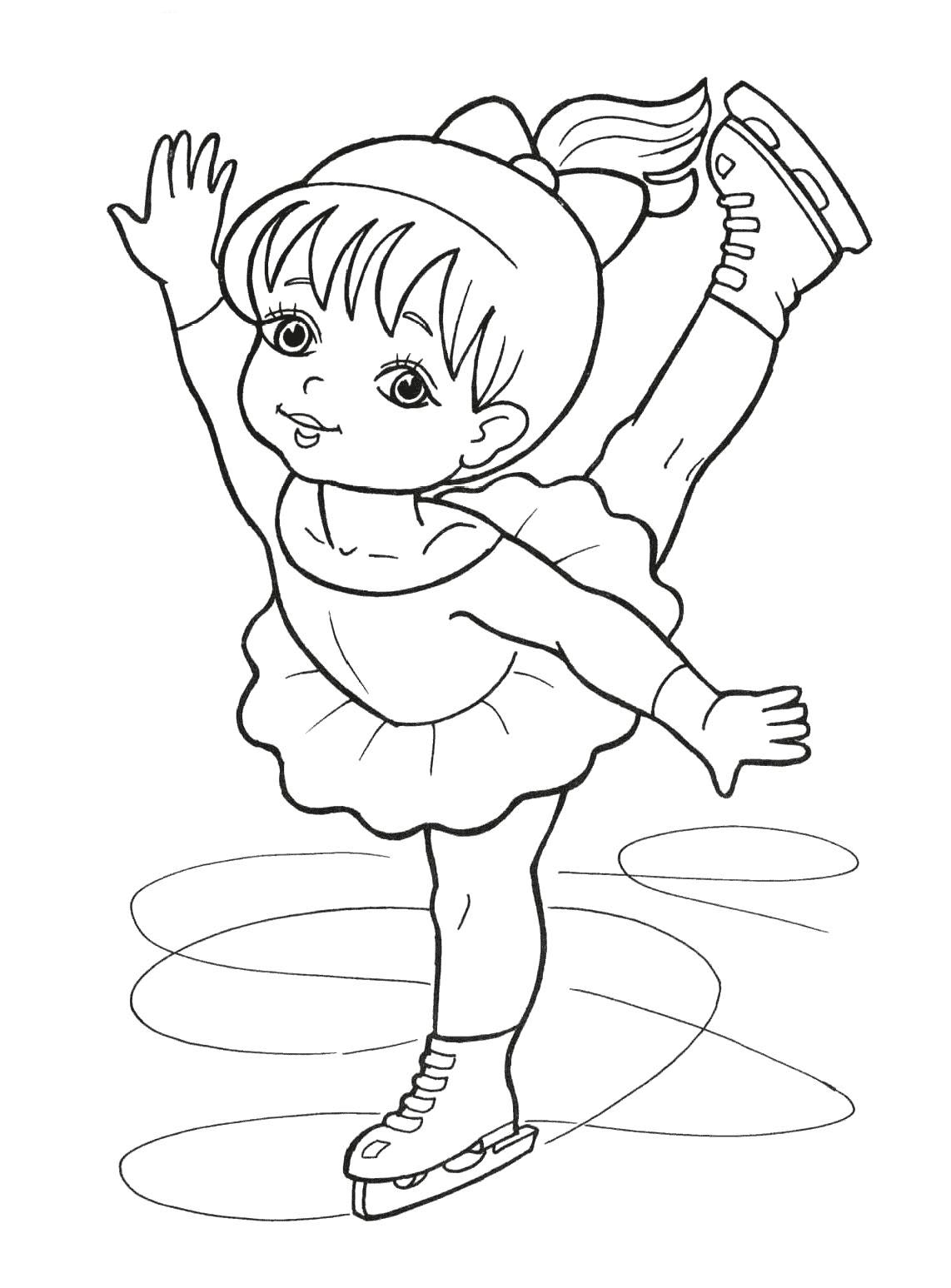 ice skating colouring pictures hello kitty ice skating from hello kitty coloring page ice colouring pictures skating