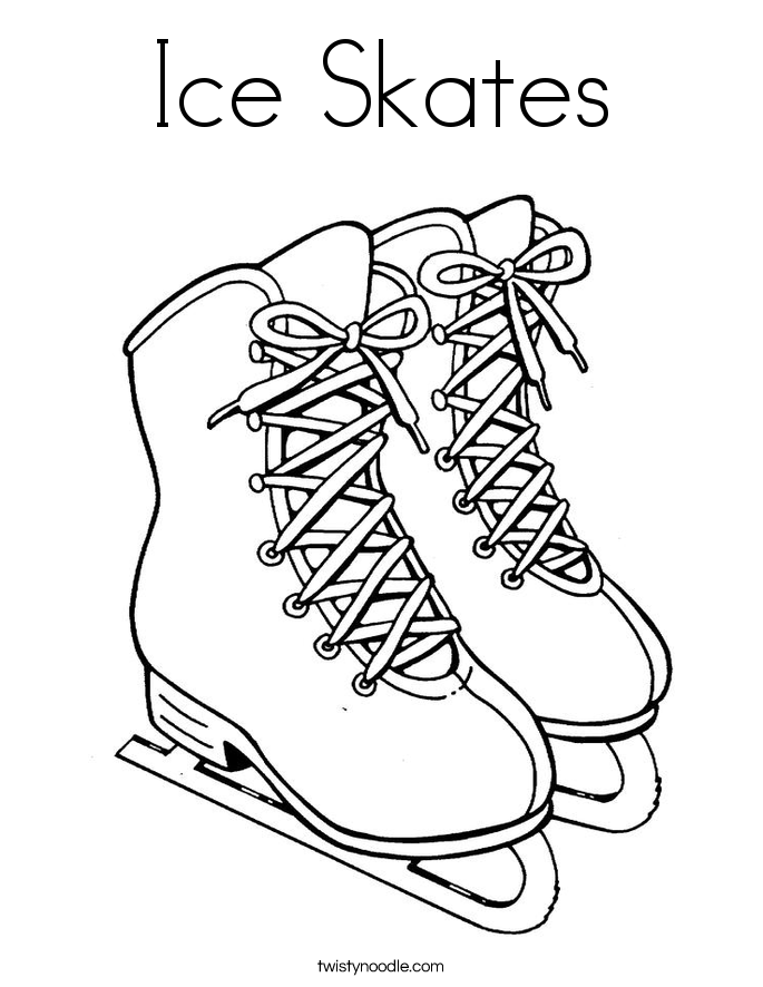 ice skating colouring pictures ice skate coloring pages google search coloring pages colouring pictures skating ice