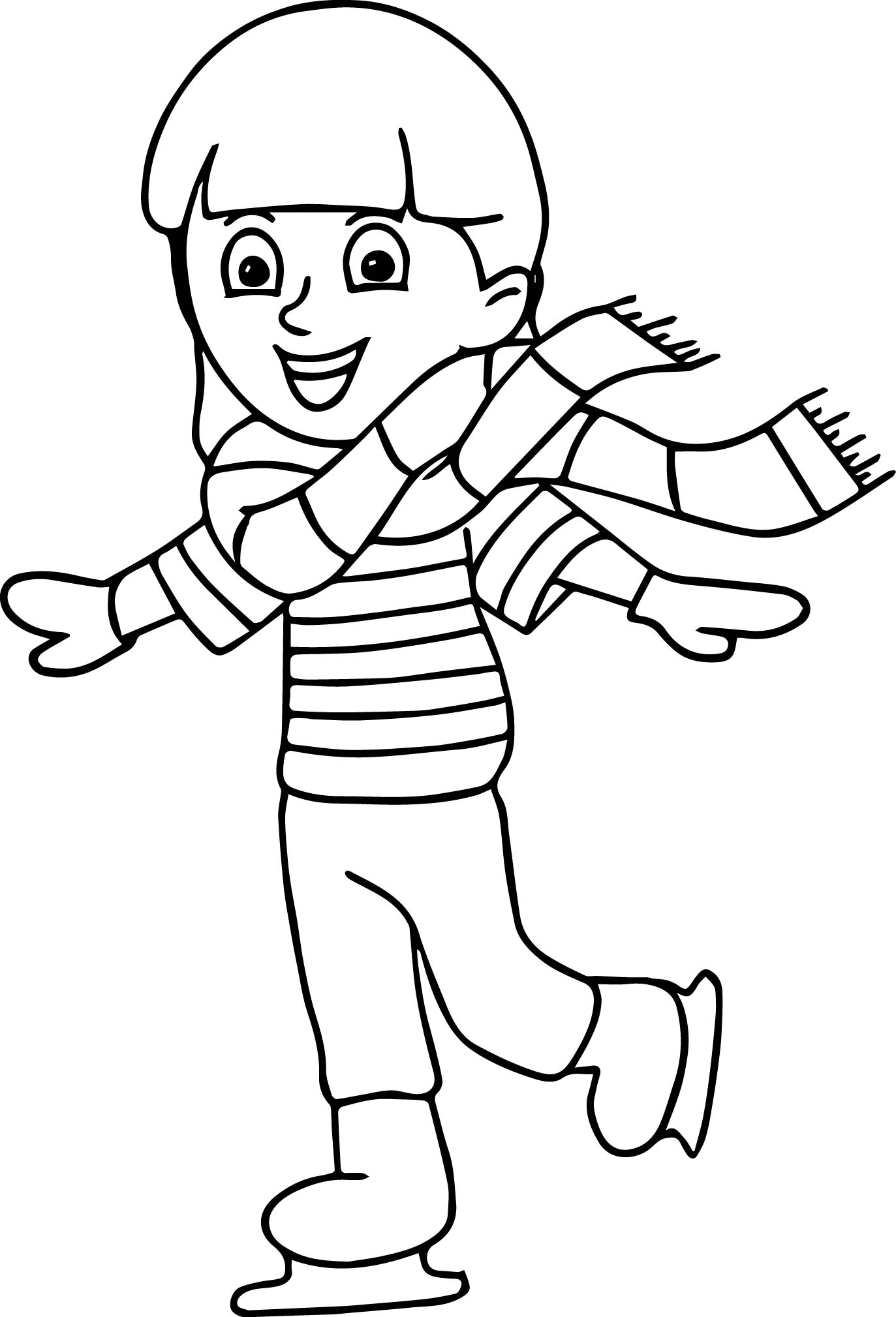 ice skating colouring pictures playing ice skating coloring page peewee camp sports ice pictures skating colouring