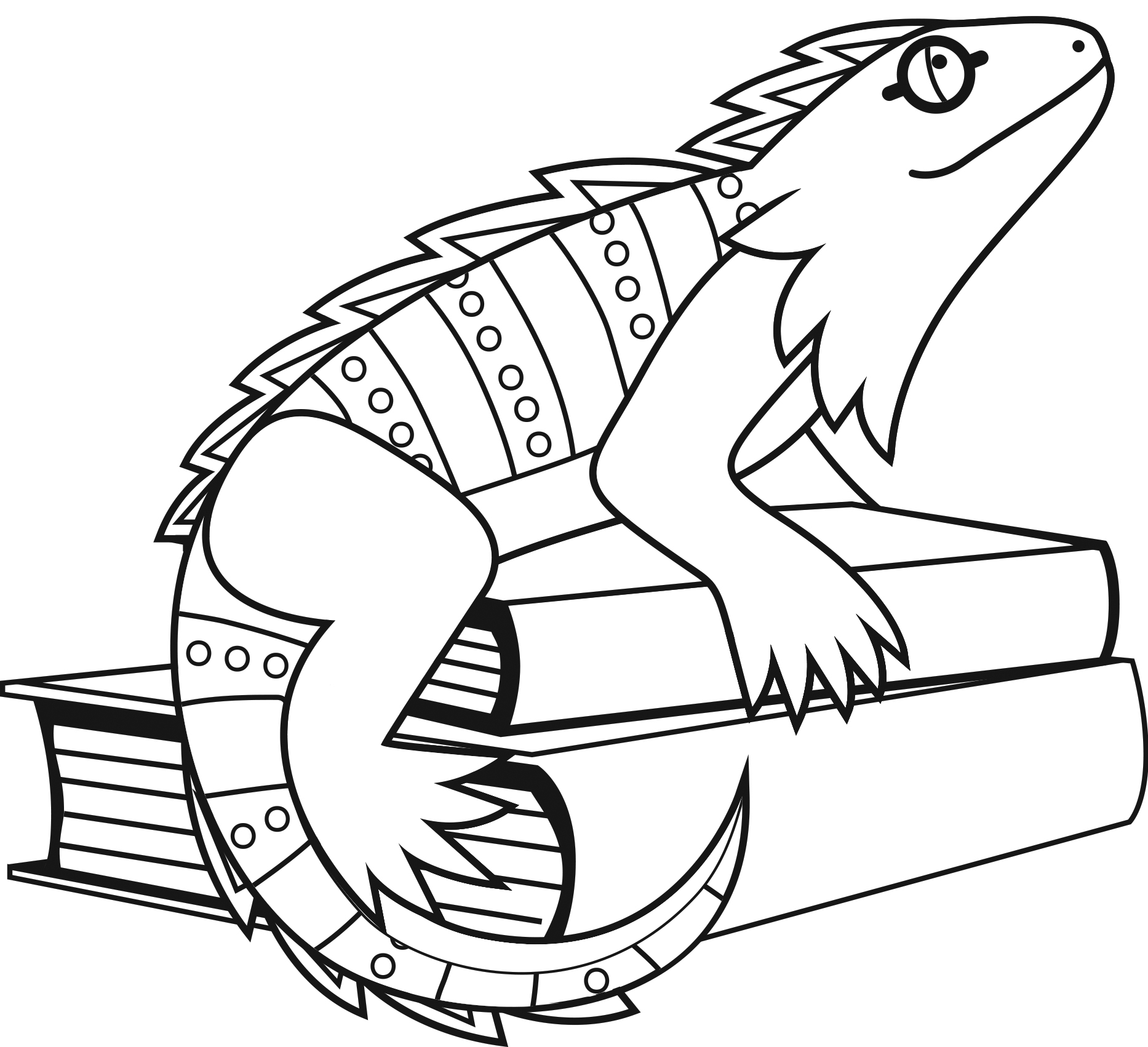 iguana coloring page 16 printable pictures of iguana page print color craft iguana page coloring