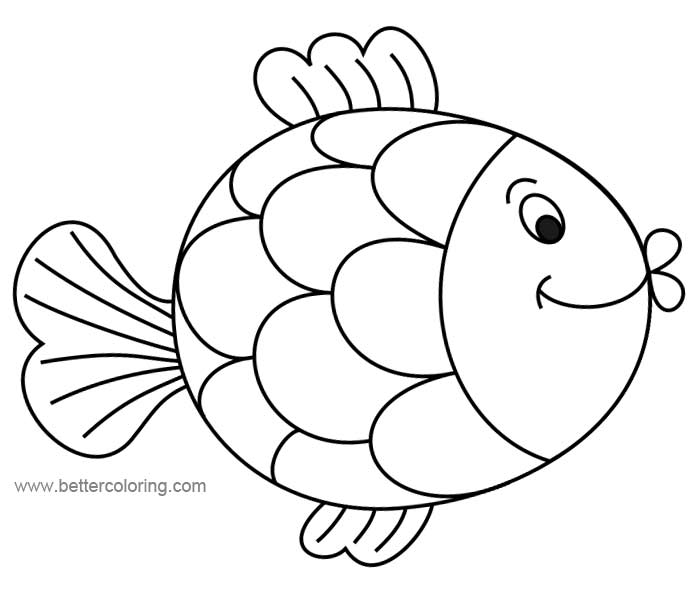 images of fish for colouring bluebonkers tropical fish simple objects to color fish colouring of for images