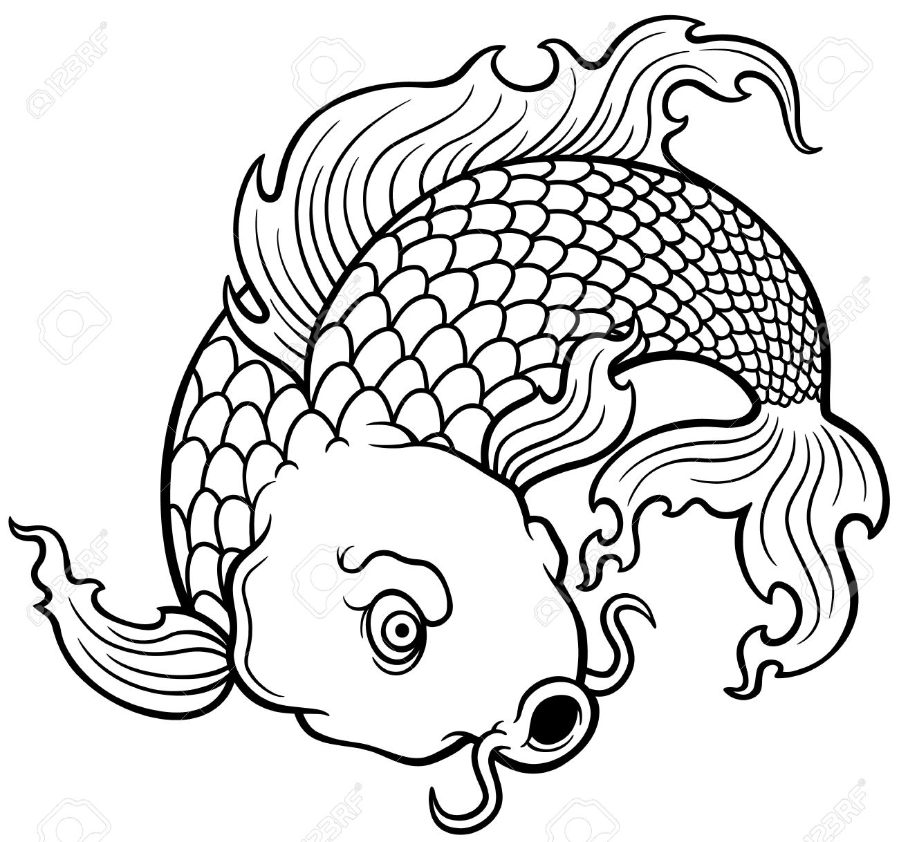images of fish for colouring clown fish coloring page free printable pages for kids colouring fish for of images