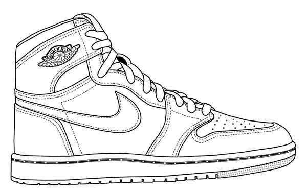 images of shoes to color air jordan coloring pages at getcoloringscom free color to shoes of images