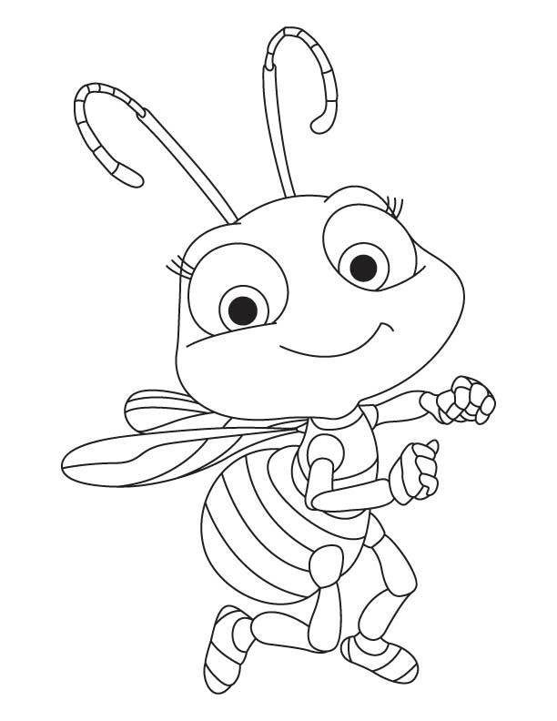 insects for coloring realistic insect coloring pages at getdrawings free download for coloring insects