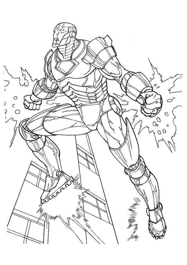 ironman printable coloring pages bullet proof iron man coloring page netart printable coloring pages ironman
