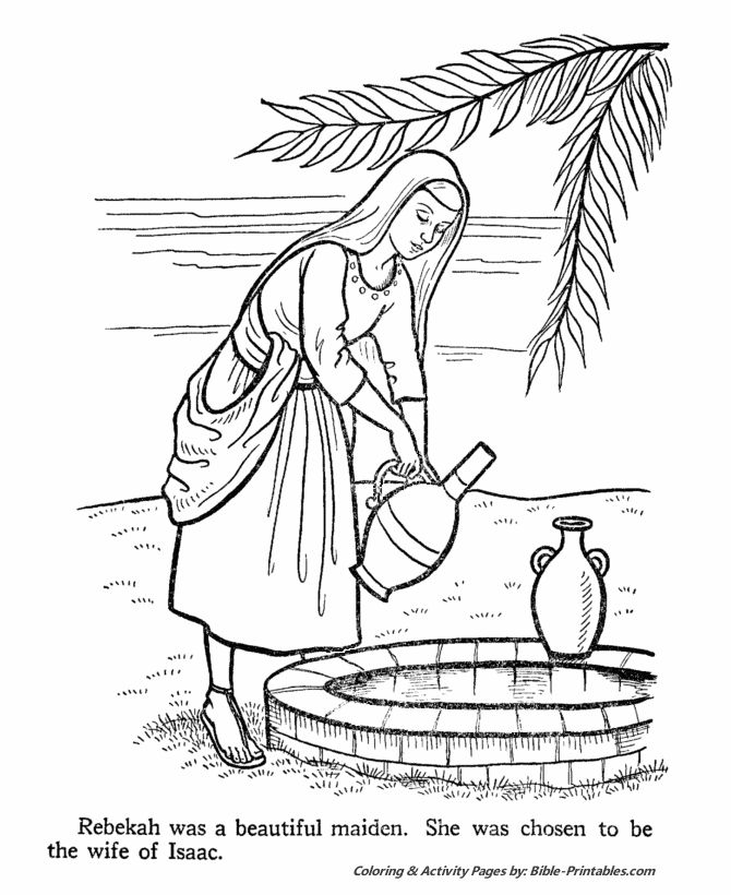 isaac and rebekah coloring pages 30 isaac and rebekah coloring pages mihrimahasya isaac rebekah coloring pages and