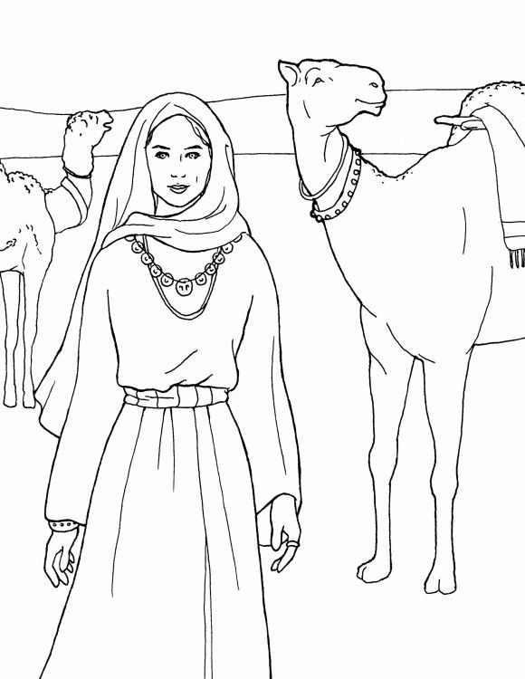 isaac and rebekah coloring pages isaac and rebekah worksheets in 2020 bible coloring coloring rebekah pages and isaac