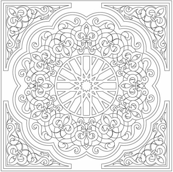 islamic art patterns to colour 233 best islamic coloring images on pinterest geometric art to patterns colour islamic