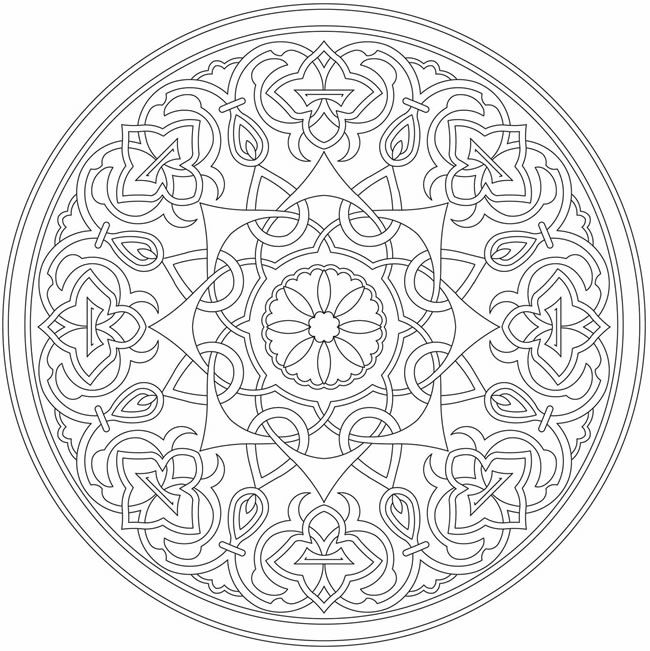 islamic art patterns to colour islamic pattern coloring page free printable coloring pages patterns colour islamic to art