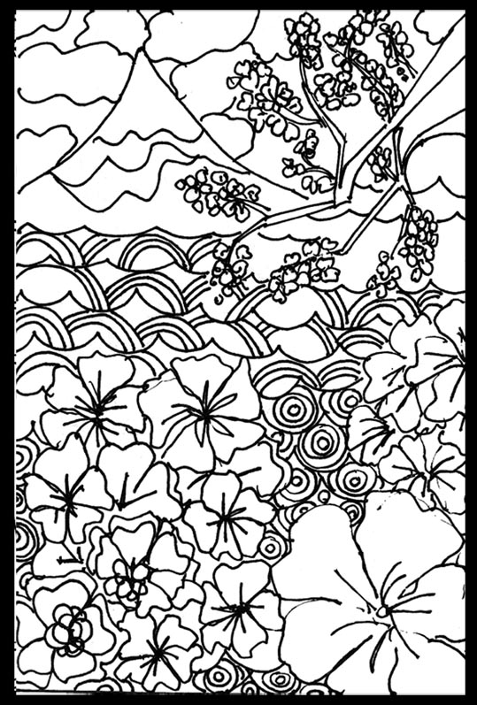japanese coloring sheets free coloring pages view from japan japanese coloring sheets