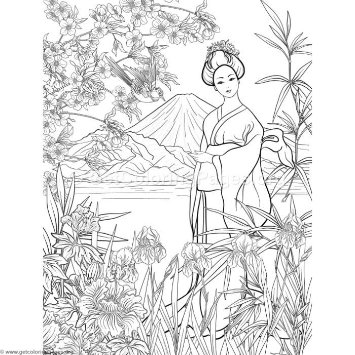 japanese coloring sheets japan coloring pages for adults coloring life in japan sheets japanese coloring