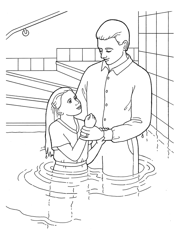 jesus getting baptized coloring page baptism coloring pages printables at getcoloringscom page getting jesus coloring baptized
