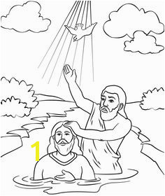jesus getting baptized coloring page the baptism of jesus in jesus love me colorig page color page jesus getting coloring baptized