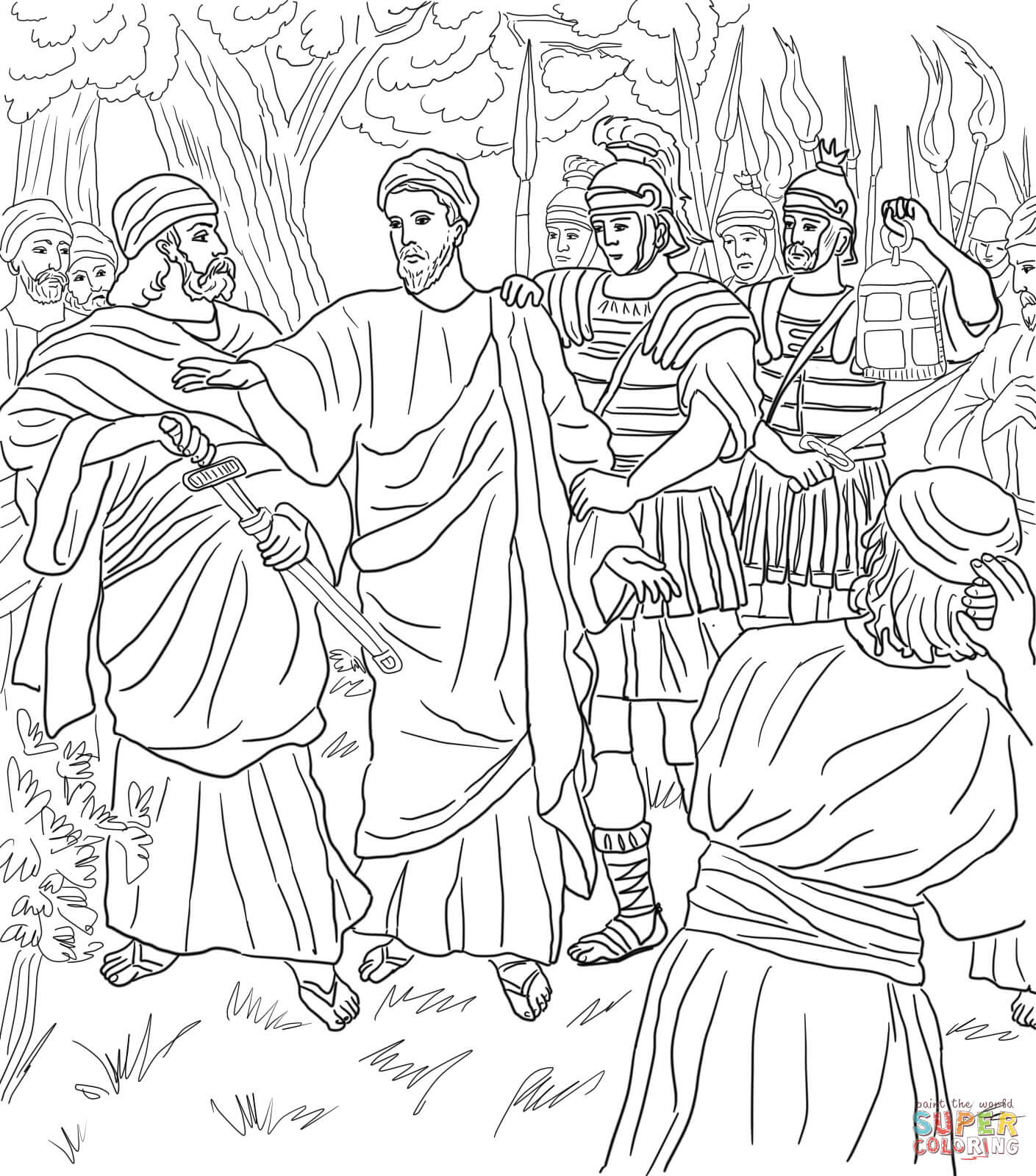 jesus in the garden of gethsemane coloring page the prayer of jesus in the gethsemane garden coloring in the gethsemane of jesus coloring garden page