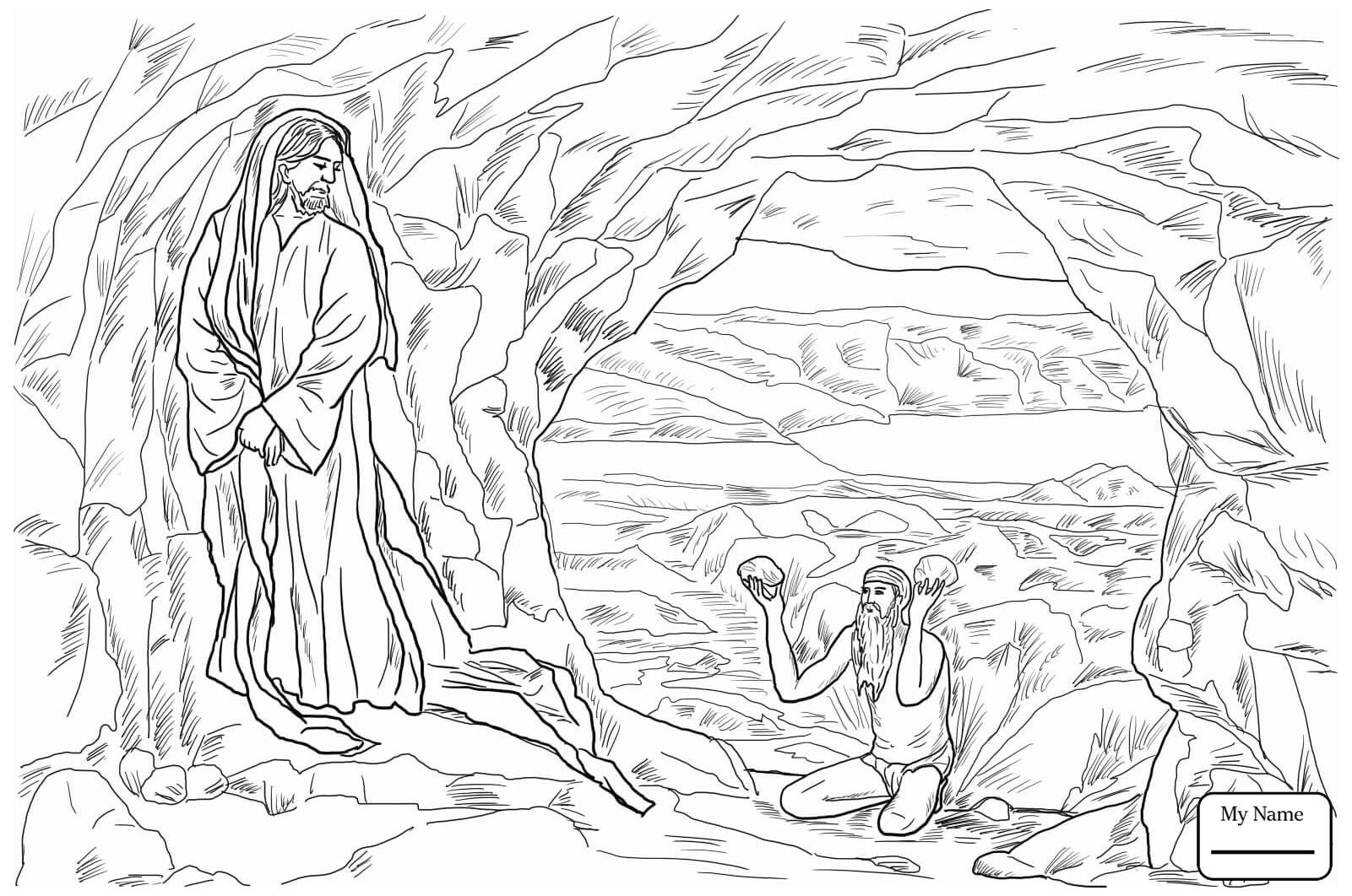 jesus temptation coloring sheet jesus is tempted in the desert coloring pages jesus coloring temptation sheet