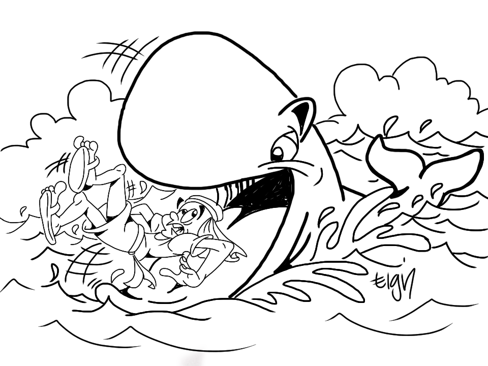 jonah and the whale colouring free printable jonah and the whale coloring pages for kids jonah and colouring whale the