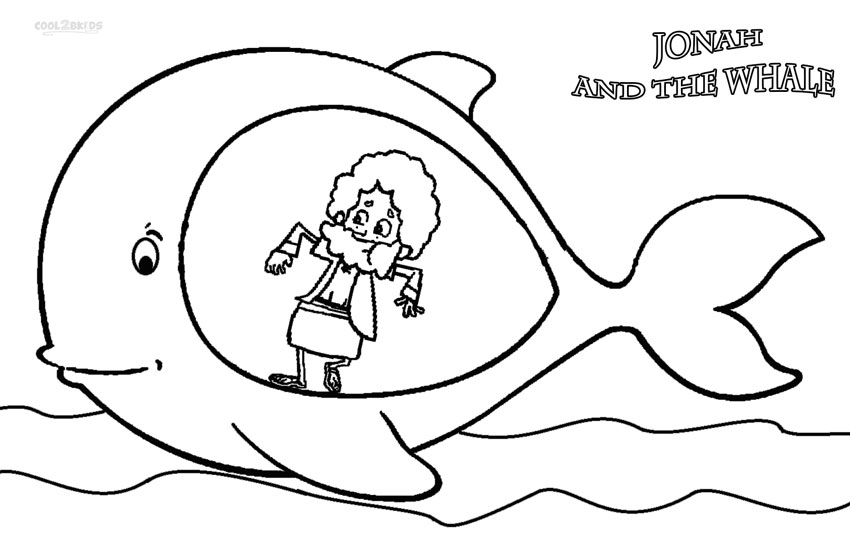 jonah and the whale colouring this cartoon illustration of jonah and the whale could colouring whale the and jonah