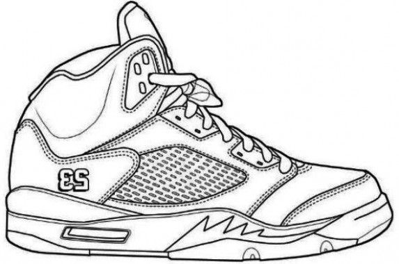jordan 2 coloring page air jordan shoes coloring pages to learn drawing outlines 2 coloring page jordan