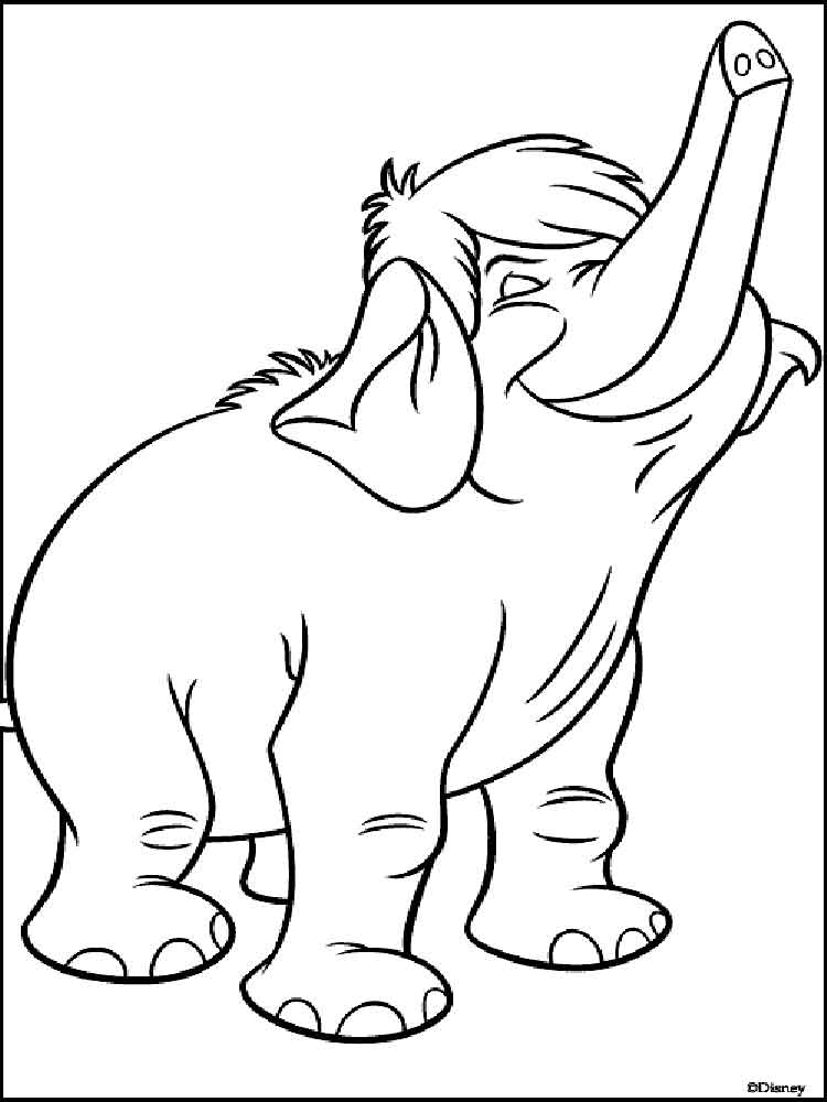 jungle book coloring pages baloo coloring pages kidsuki jungle pages coloring book