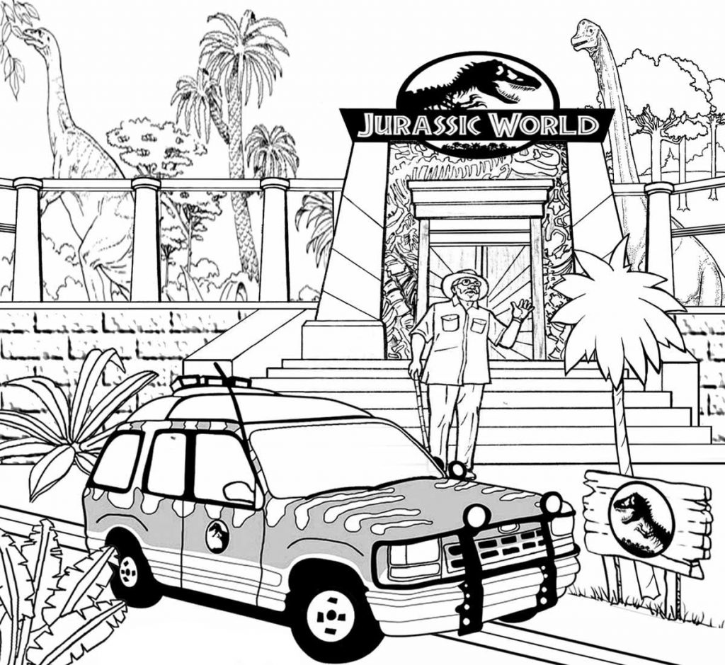 jurassic world printable coloring pages free jurassic world coloring pages download and print world coloring jurassic printable pages