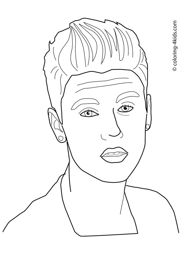 justin bieber coloring games activity handsome men justin bieber coloring pages new bieber justin games coloring