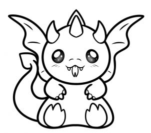 kawaii dragon coloring pages cute dragon lineart by phobic42 on deviantart dragon kawaii coloring pages