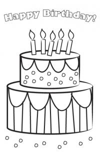 kids coloring birthday card 15 birthday coloring pages for kids top free printable birthday coloring card kids