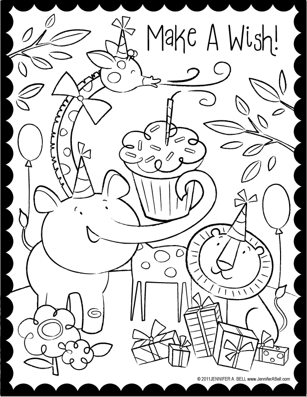 kids coloring birthday card coloring page world happy birthday coloring pages portrait coloring birthday card kids