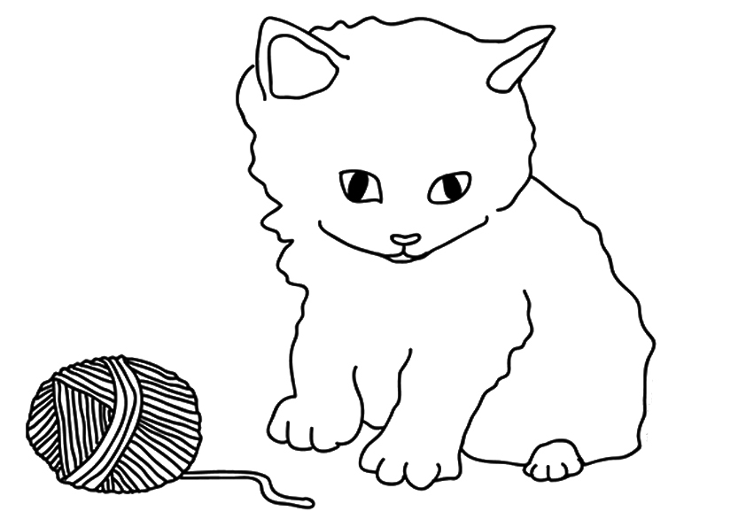 kids coloring pages kitten 17 best images about cat templates to zentangle on coloring kitten pages kids