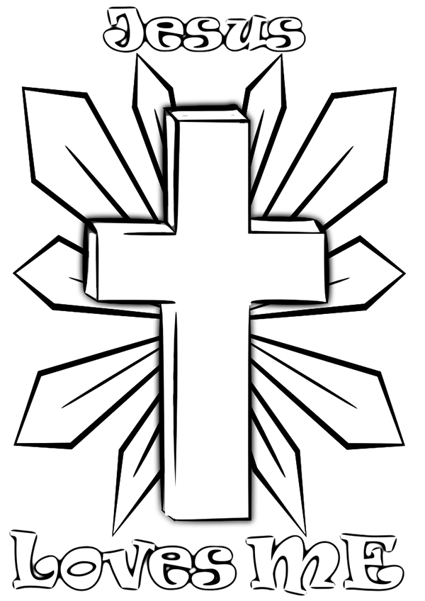 kids cross coloring page religious easter coloring pages best coloring pages for kids page cross coloring kids