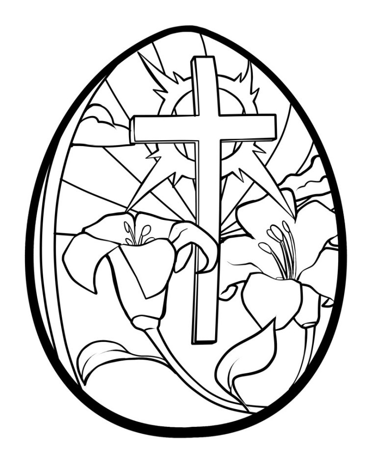 kids cross coloring page religious easter coloring pages for children free printable kids coloring cross page