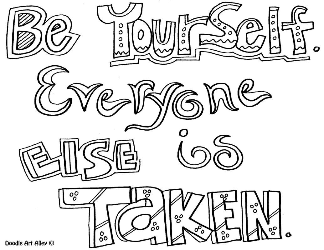 kids quote coloring pages courage quote coloring pages from doodle art alley quote kids pages coloring quote
