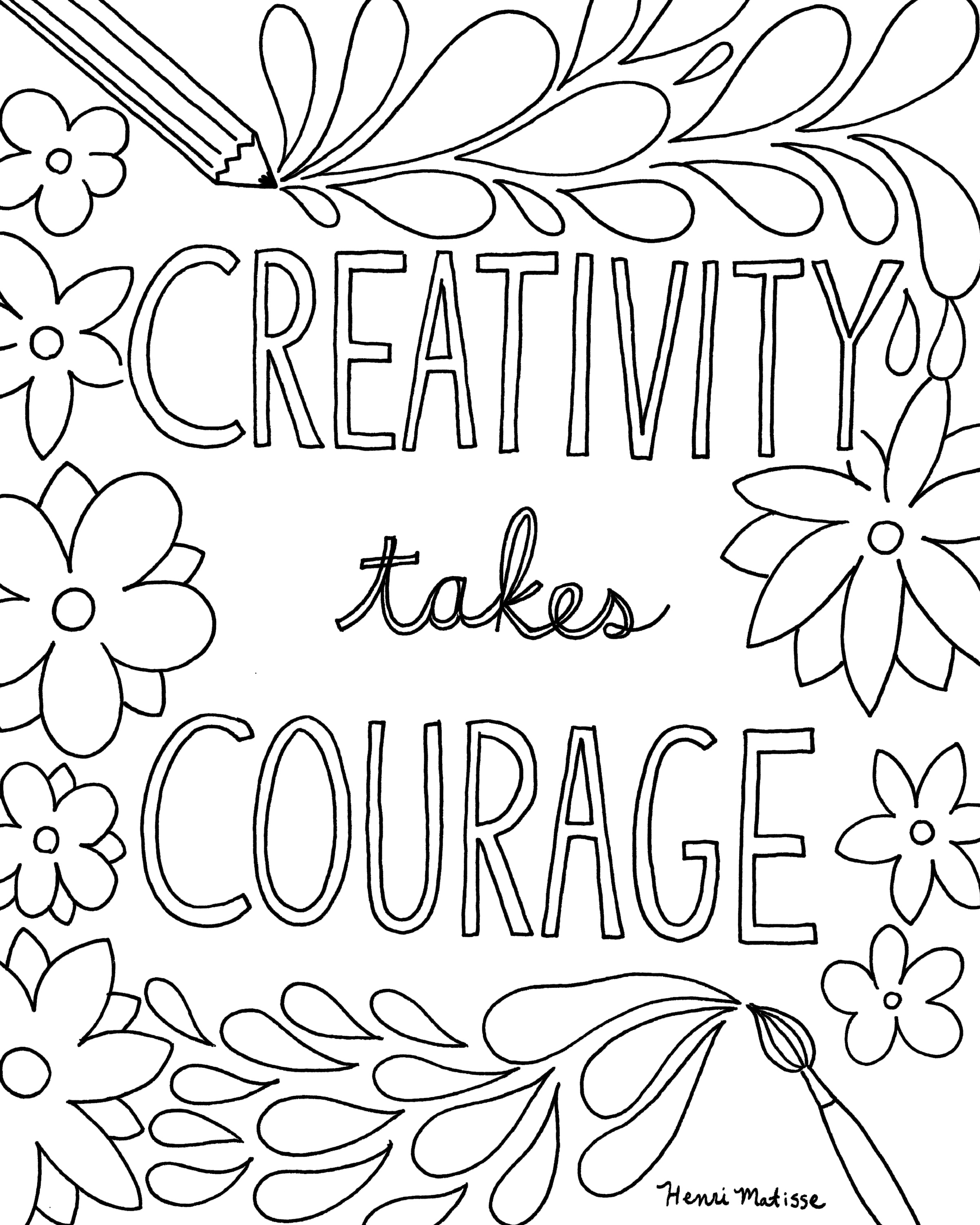 kids quote coloring pages create something wonderful colouring page a colouring kids coloring quote pages