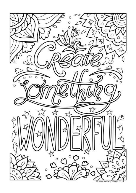 kids quote coloring pages kindness quote coloring pages doodle art alley pages quote kids coloring
